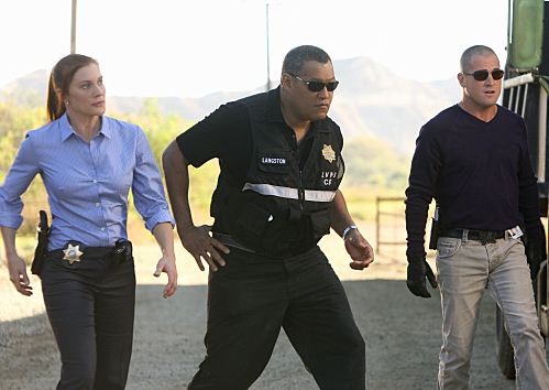 CSI: CRIME SCENE INVESTIGATION (CBS) Fracked