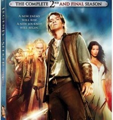 Legend of The Seeker Season 2 DVD
