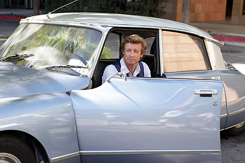 THE MENTALIST (CBS) Red Hot