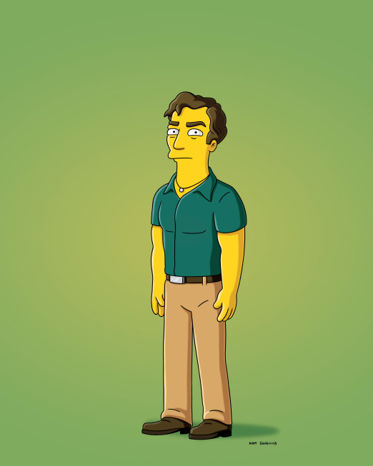 Hugh Laurie in THE SIMPSONS Treehouse of Horror XXI