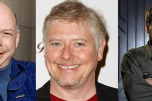 Wallace Shawn Dave Foley and Aaron Douglas