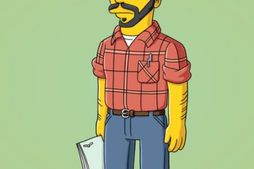 THE SIMPSONS Homer the Father