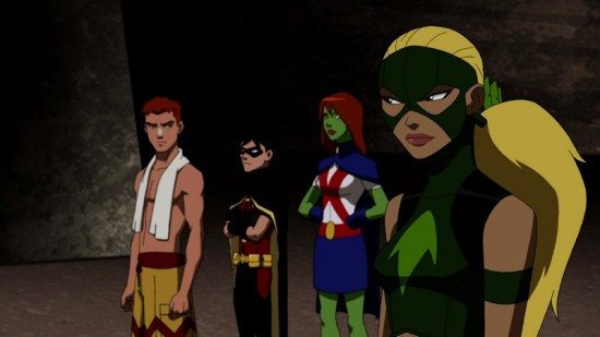young justice (cartoon network) infiltrator