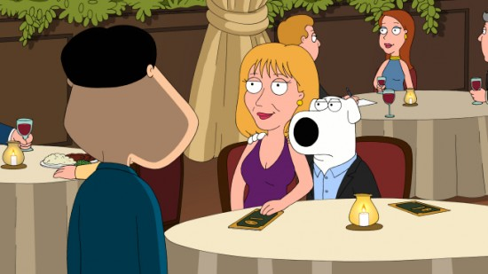 FAMILY GUY (FOX) Tiegs for Two