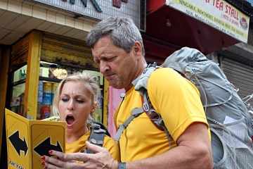 """THE AMAZING RACE 18 """"I Feel Like a Monkey in a Circus Parade"""" Episode 6"""