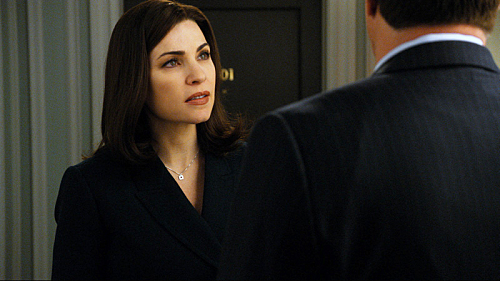 "THE GOOD WIFE ""In Sickness"" Season 2 Episode 21"