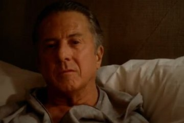 luck in production hbo dustin hoffman