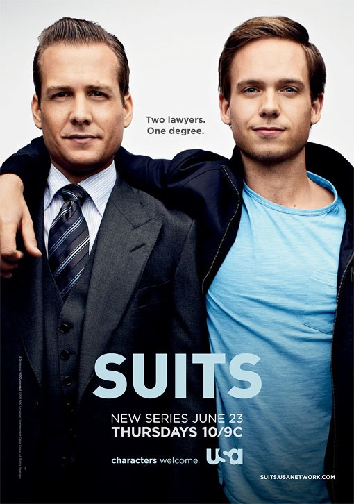 suits usa poster