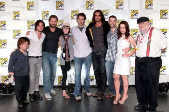 game of thrones comic con 2011