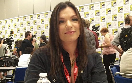 sera gamble supernatural comic-con 2011