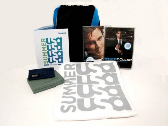white collar summer 2011 prize pack