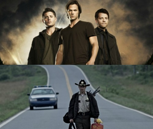 Supernatural and The Walking Dead