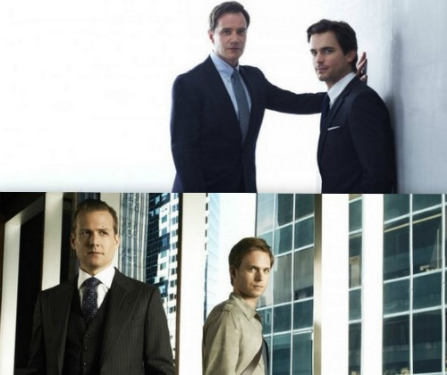 White Collar and Suits