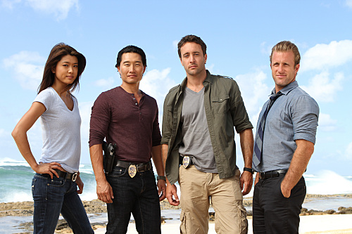 Kono, Chin, Steve and Danno - Hawaii Five-0