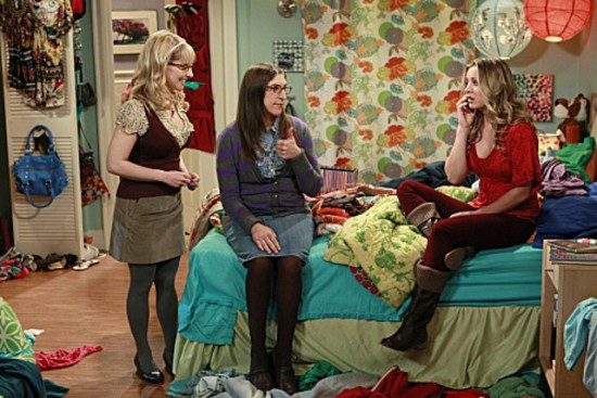 Amy, Bernadette and Penny on THE BIG BANG THEORY