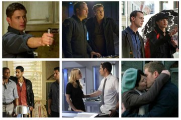 Supernatural, Stargate Atlantis, NCIS, Psych, Chuck, Once Upon a Time