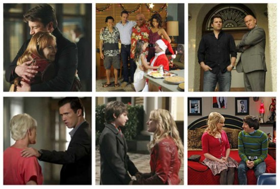 Castle, Hawaii Five-0, Psych, Burn Notice, Once Upon A Time, Big Bang Theory