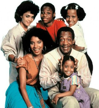 Denise, Claire, Theo, Vanessa, Cliff and Rudy - The Cosby Show