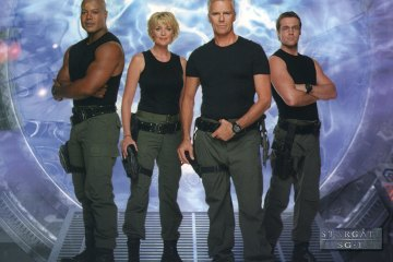Teal'c, Carter, O'Neill and Jackson - Stargate SG-1