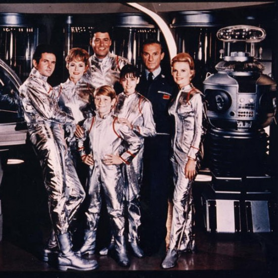 The Robinson Family, Dr. Smith, Major West and the Robot - Lost in Space