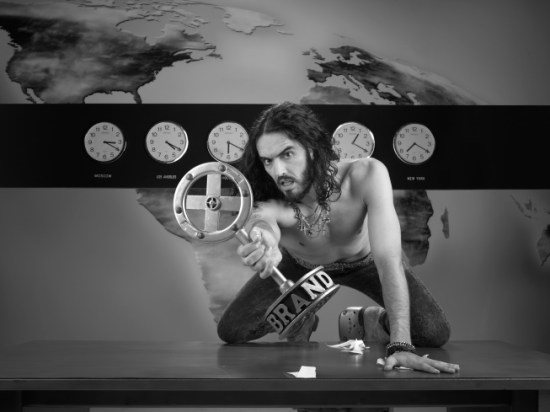 BRANDX WITH RUSSELL BRAND: Russell Brand.