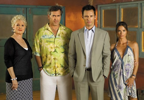 Cast from Burn Notice