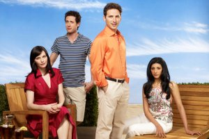 Cast from Royal Pains