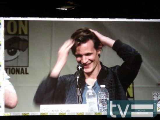 Comic-Con 2012 Doctor Who Panel