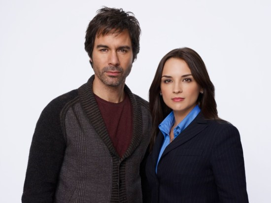 Perception Eric McCormack and Rachael Leigh Cook PH Jeremy Freeman