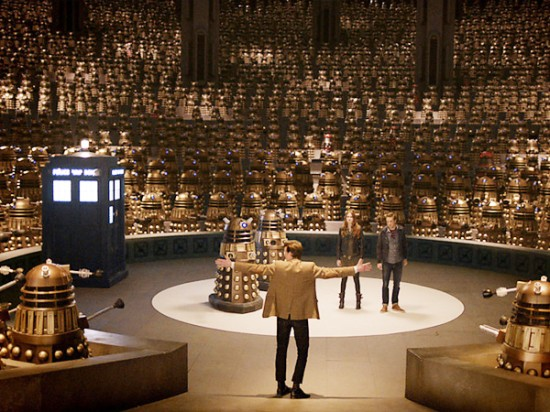 Doctor Who - Asylum of the Daleks Christmas
