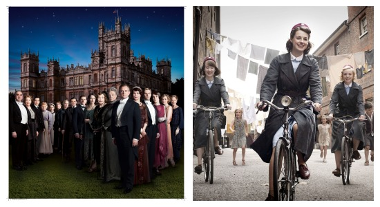 downton abbey call the midwife