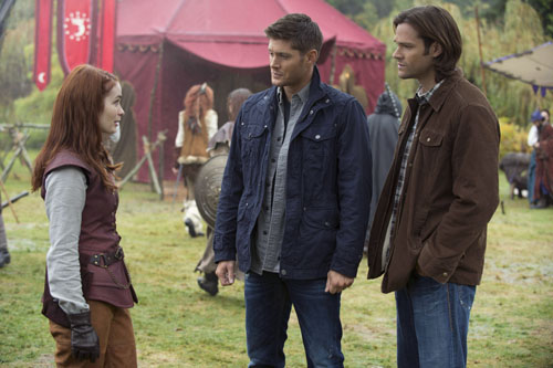 Supernatural Season 8 Episode 11 Larp and the Real Girl (12)