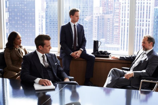 Jessica, Harvey, Mike and Daniel - Suits