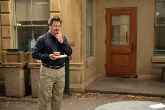 Parks and Recreation Season 5 Episode 18 & 19 Article Two; Jerry's Retirement (1)