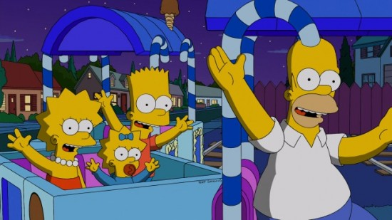 The Simpsons Season 24 Finale 2013 The Sage of Carl; Dangers on a Train-1