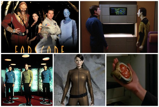 Farscape, Star Trek: The Next Generation, Classic Star Trek, Continuum, Stargate SG-1