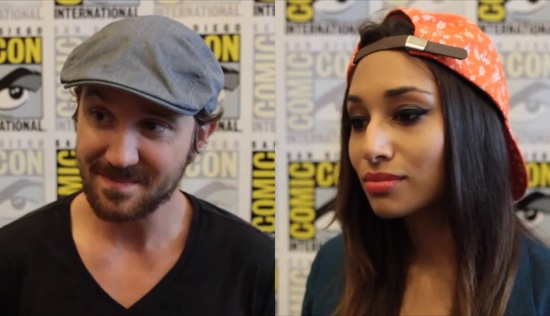 being human syfy comic-con 2013 interviews