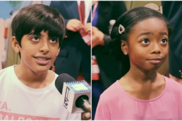 jessie d23 interviews Karan Brar and Skai Jackson