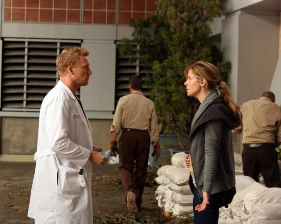 Grey's Anatomy Season 10 Episode 1 & 2 Seal Our Fate;I Want You With Me (27)