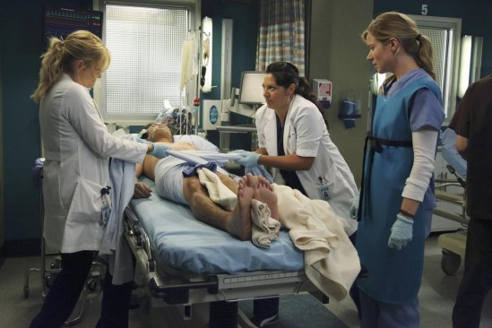 Grey's Anatomy Season 10 Episode 1 & 2 Seal Our Fate;I Want You With Me (23)