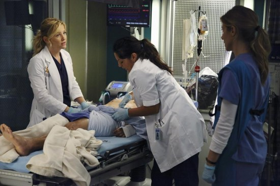 Grey's Anatomy Season 10 Episode 1 & 2 Seal Our Fate;I Want You With Me (22)