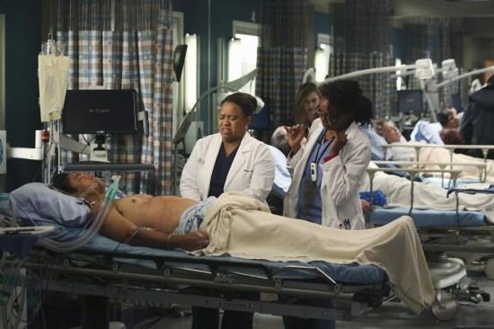 Grey's Anatomy Season 10 Episode 1 & 2 Seal Our Fate;I Want You With Me (17)