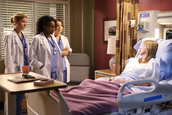 Grey's Anatomy Season 10 Episode 1 & 2 Seal Our Fate;I Want You With Me (8)
