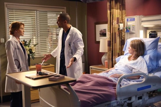 Grey's Anatomy Season 10 Episode 1 & 2 Seal Our Fate;I Want You With Me (7)