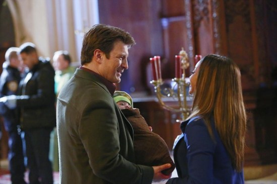 Castle Season 6 Episode 10 The Good, The Bad & The Baby (2)
