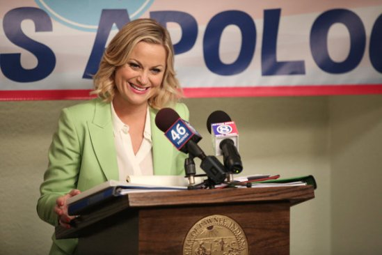 Parks and Recreation season 6 episode 8 & 9 Fluoride/The Cones of Dunshire (30)