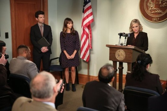 Parks and Recreation season 6 episode 6 & 7 Filibuster/Recall Vote (9)