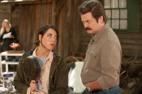 Parks and Recreation season 6 episode 8 & 9 Fluoride/The Cones of Dunshire (24)