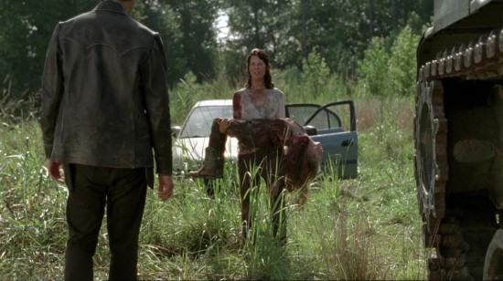 Lilly, Meghan and The Governor - The Walking Dead