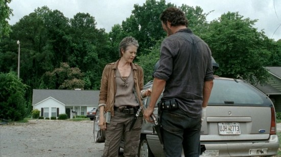 Carol and Rick - The Walking Dead